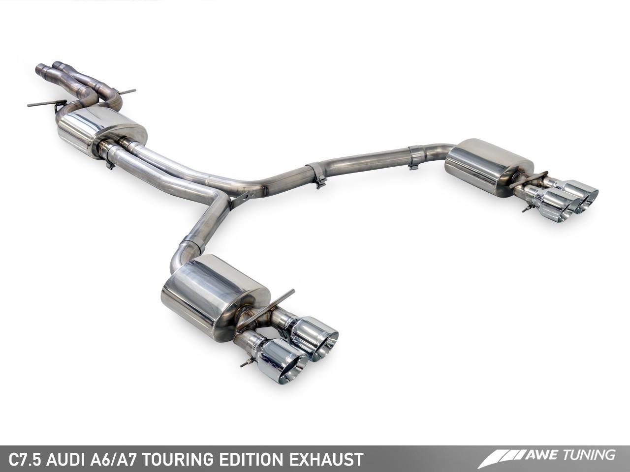 Awe Tuning Audi A7 C7 5 3 0tfsi Touring Edition Exhaust System Awe Tuning Europe