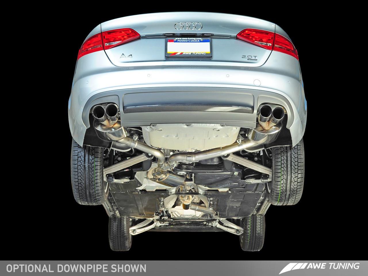 Awe Tuning A4 B8 2 0tfsi Touring Edition Exhaust Awe Tuning Europe