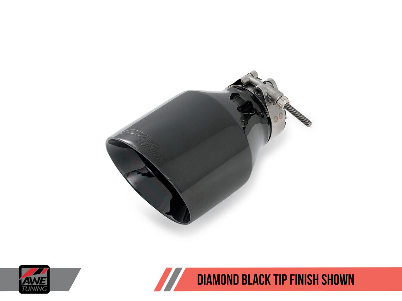 AWE Tuning Jetta Mk5 2.0T Track Edition Exhaust - Diamond Black Tailpipe