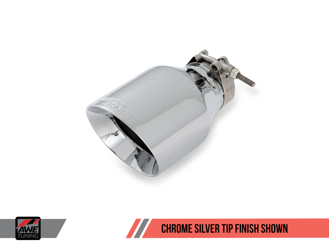 AWE Tuning - Chrome Silver Tailpipe