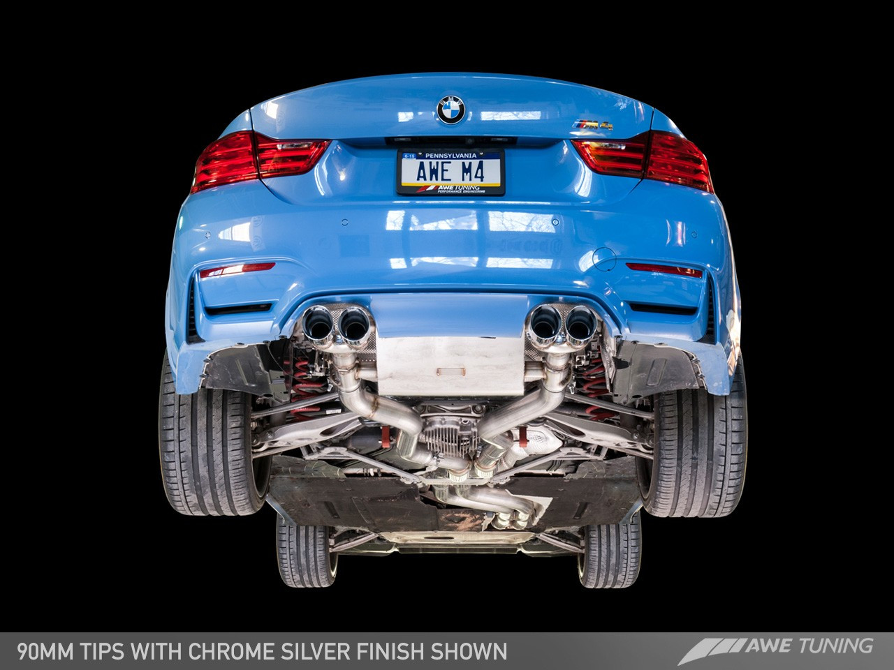 AWE Tuning BMW F8x M4 SwitchPath Exhaust System