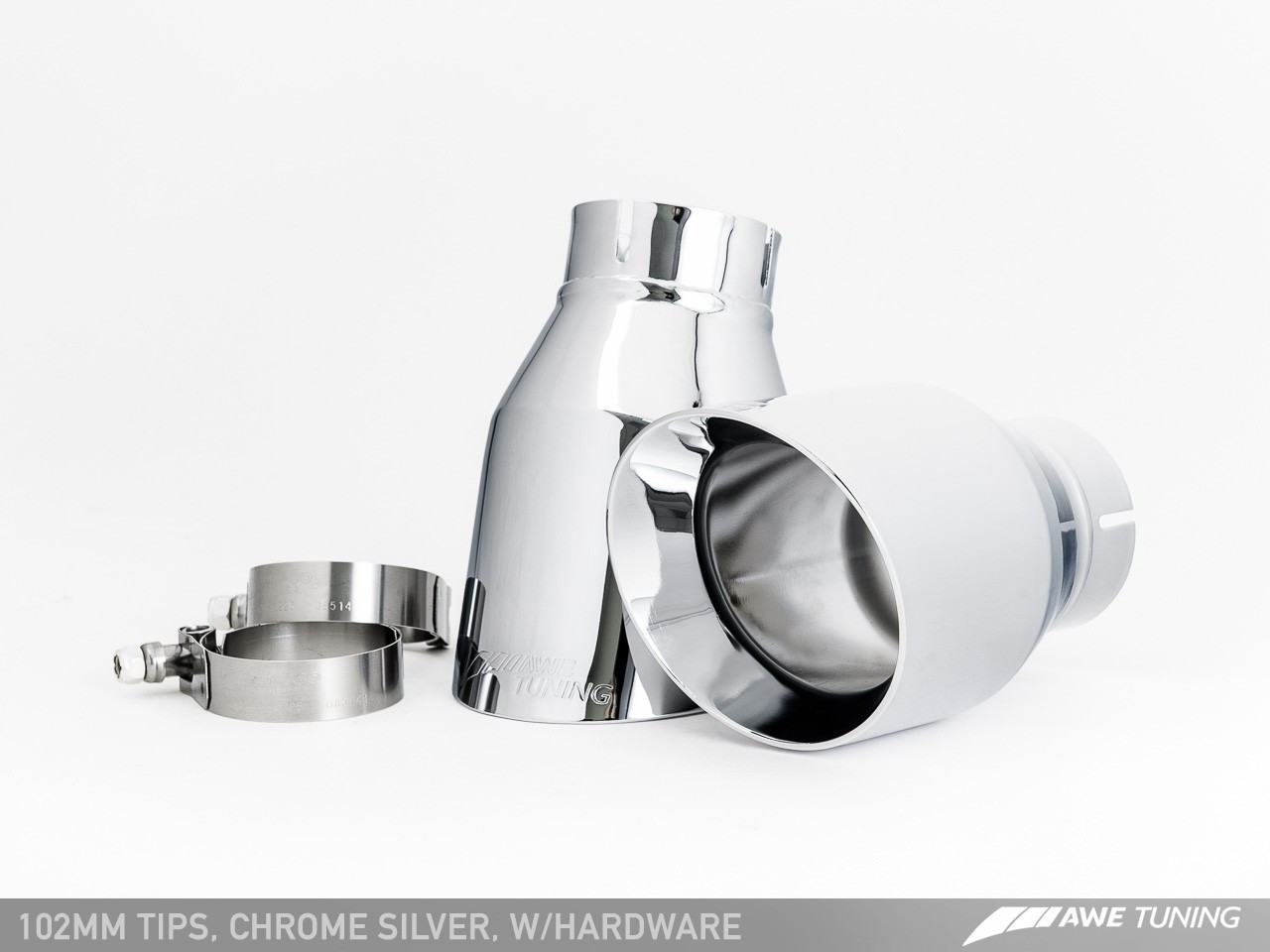 AWE Tuning Chrome Silver Tailpipes