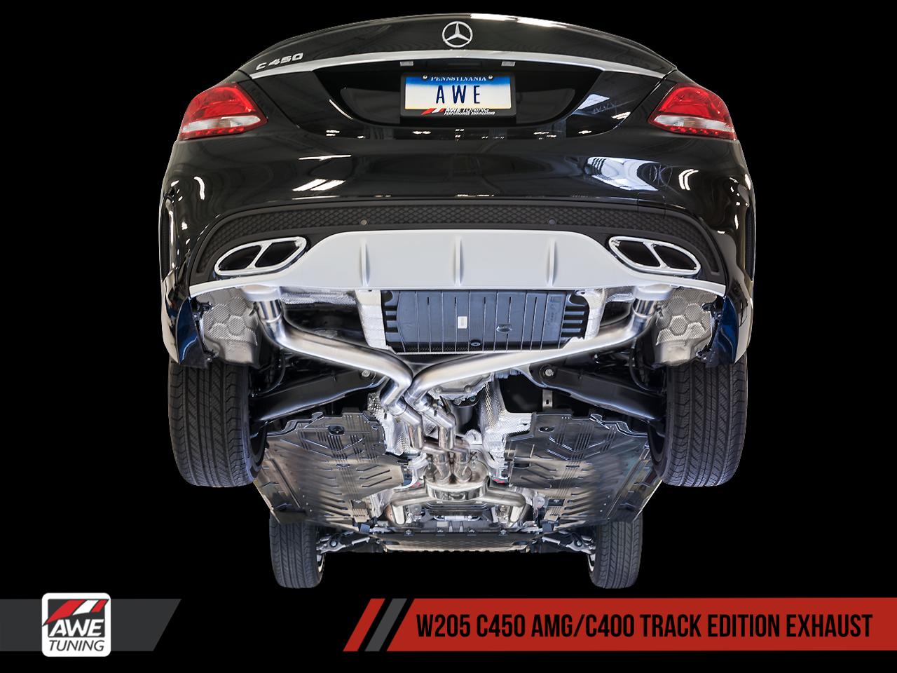 AWE Tuning Mercedes-Benz W205 Sedan + Coupe C43 / C450 / C400 Track