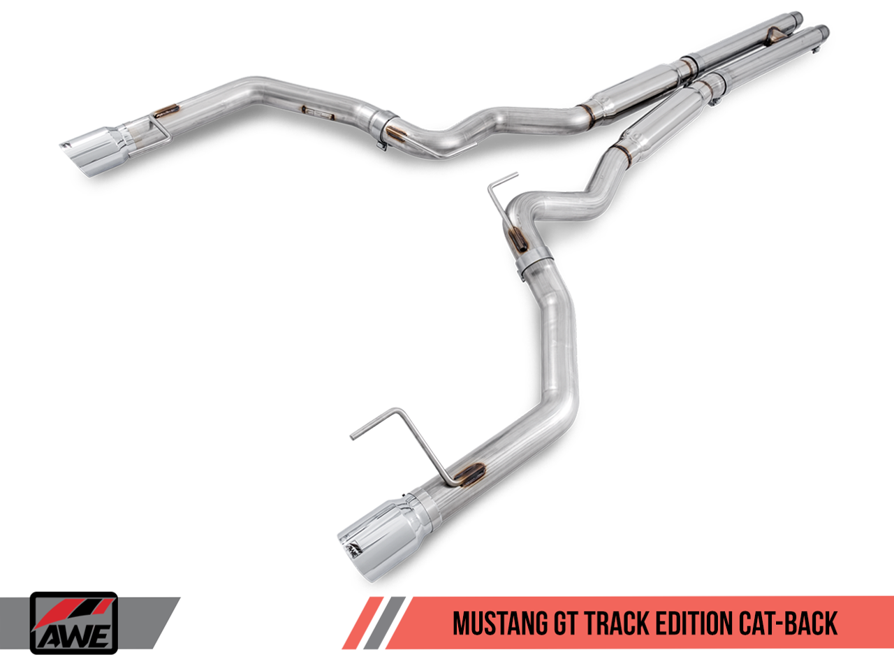 Awe Tuning Track Edition Cat Back Exhaust Ford Mustang Gt Awe
