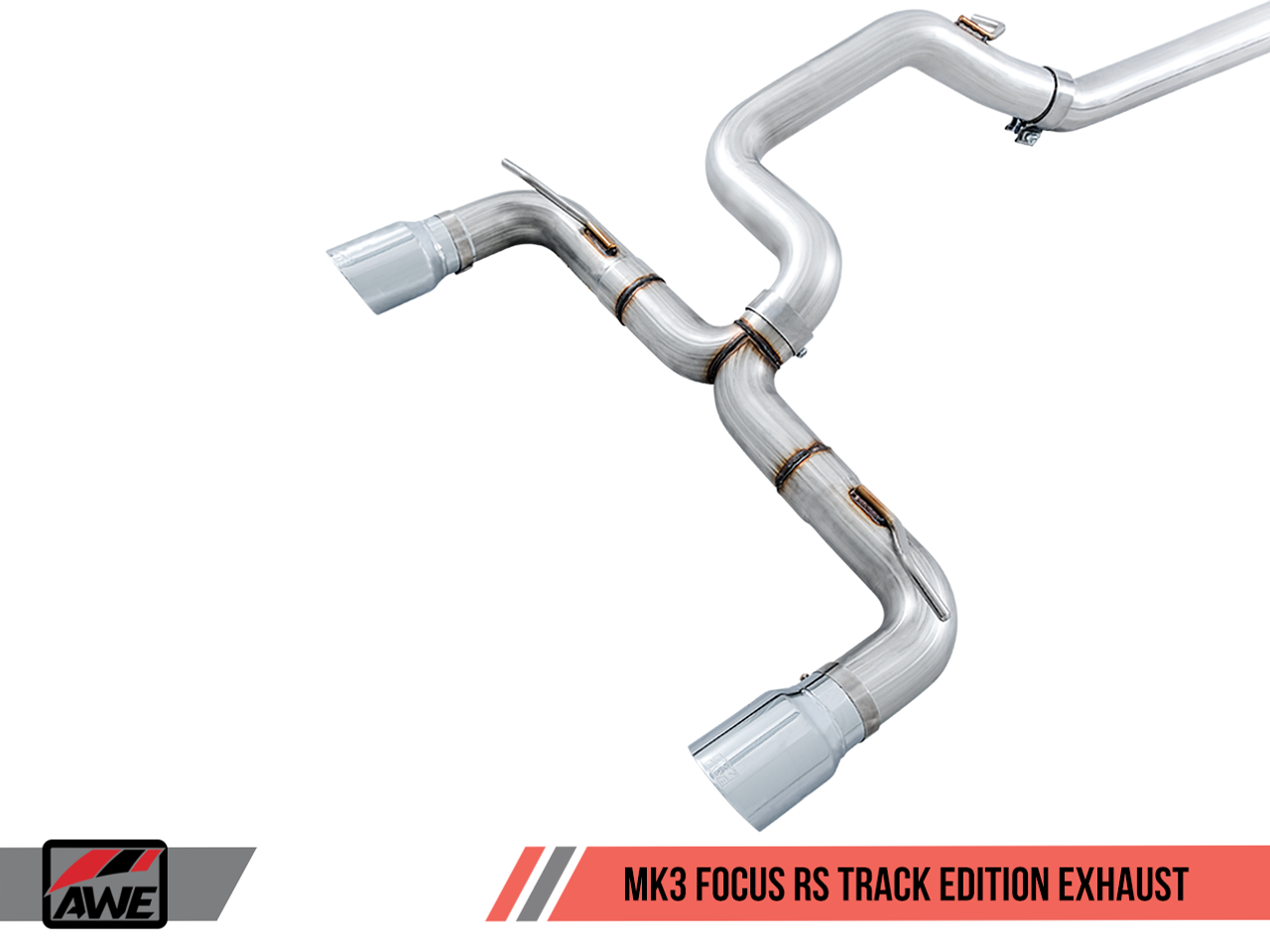 AWE Tuning Focus Mk3 'RS' Track Edition Cat-Back Exhaust