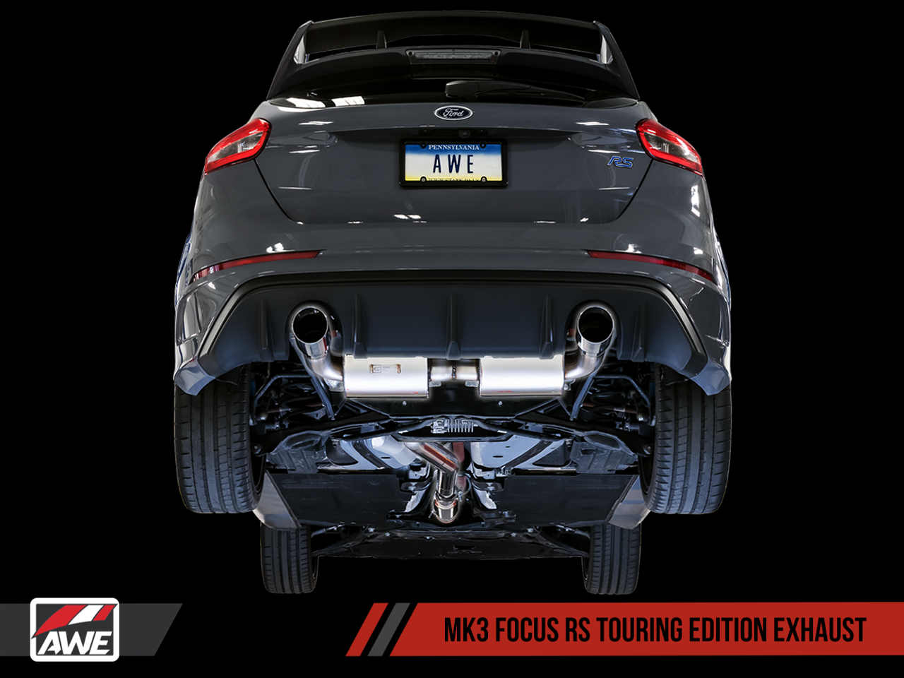 AWE Tuning Focus Mk3 'RS' Touring Edition Cat-Back Exhaust