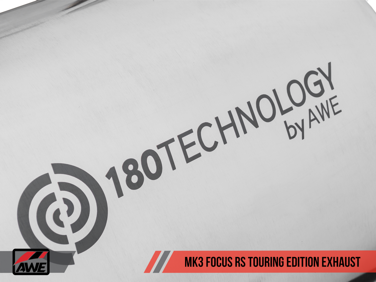 AWE Tuning Focus Mk3 'RS' Touring Edition Cat-Back Exhaust - Proprietary 180 Technology