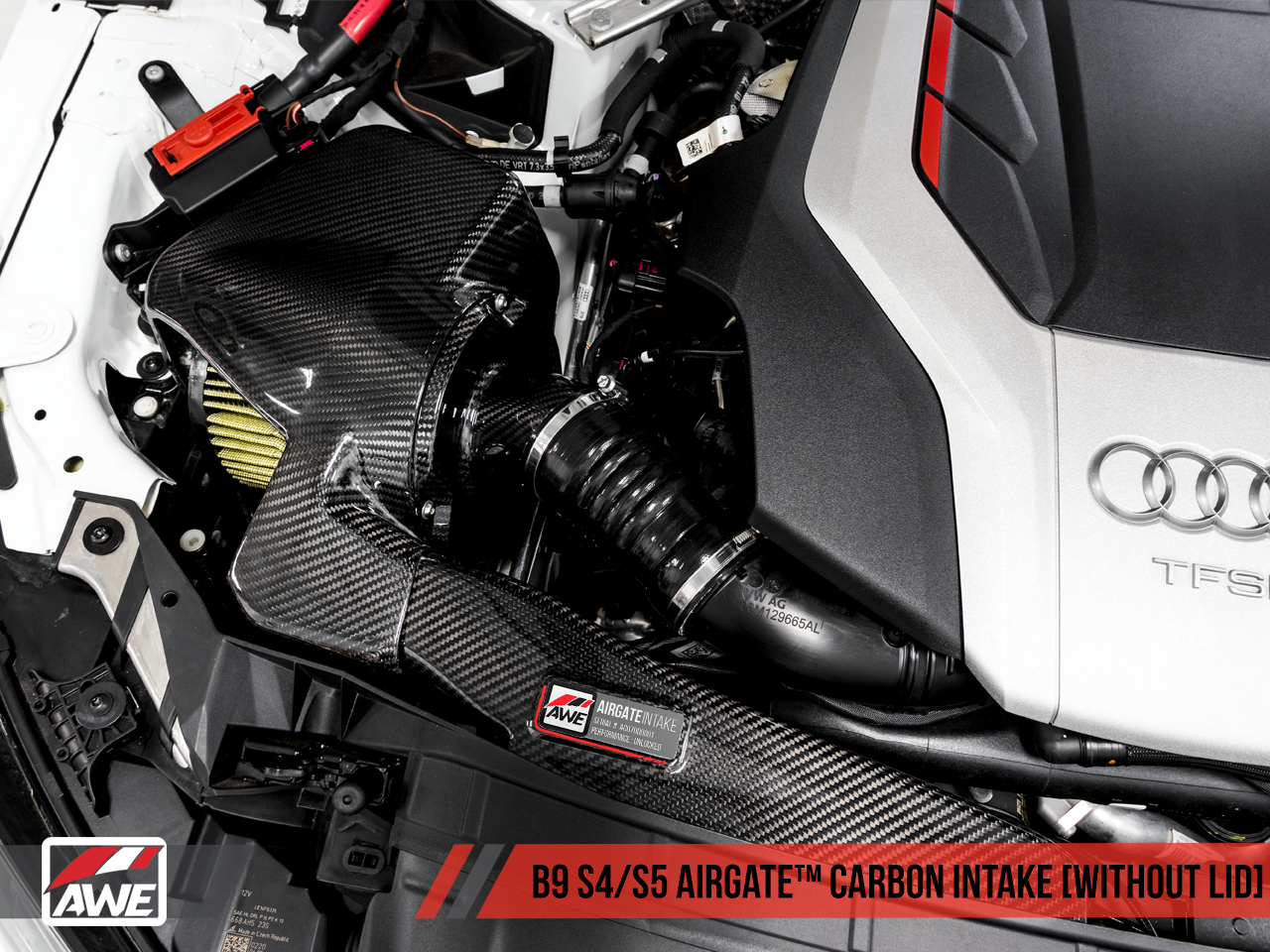 AWE Tuning AirGate Carbon Fibre Intake Kit - S4 S5, RS4 and