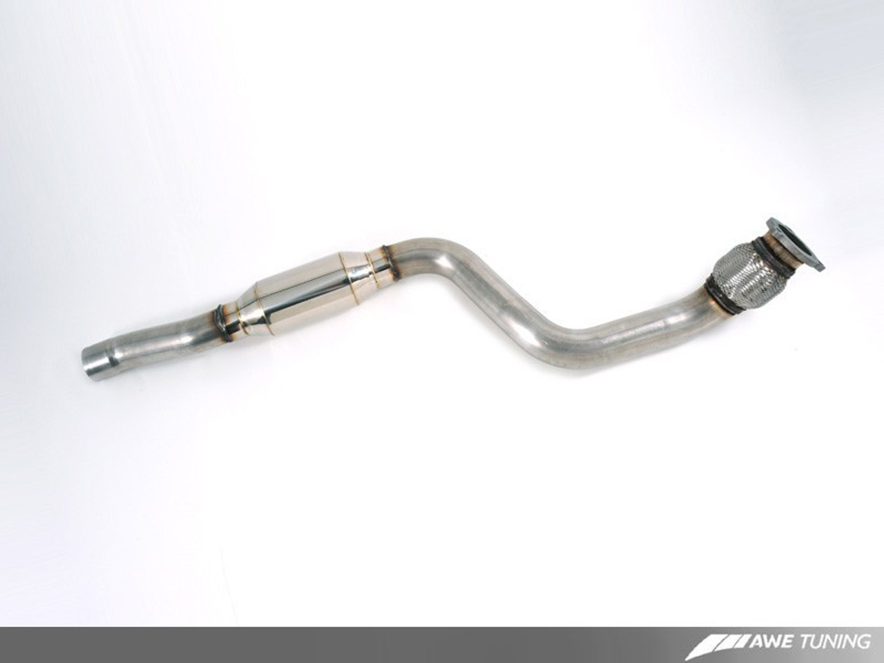 AWE Tuning Resonated Performance Downpipe For Audi B8 / B8.5 2.0t