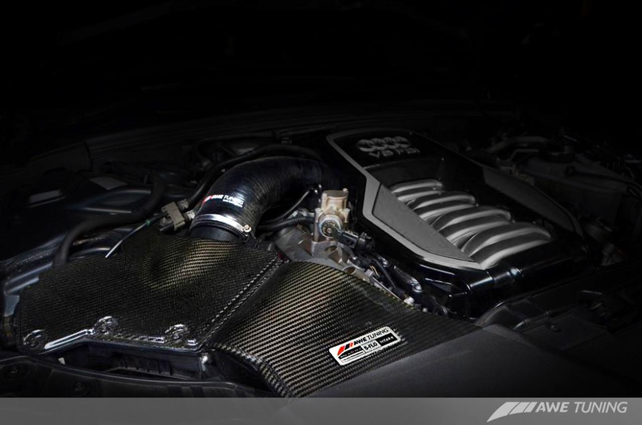 AWE Tuning S-FLO Carbon Intake fo B8 S5 4.2L