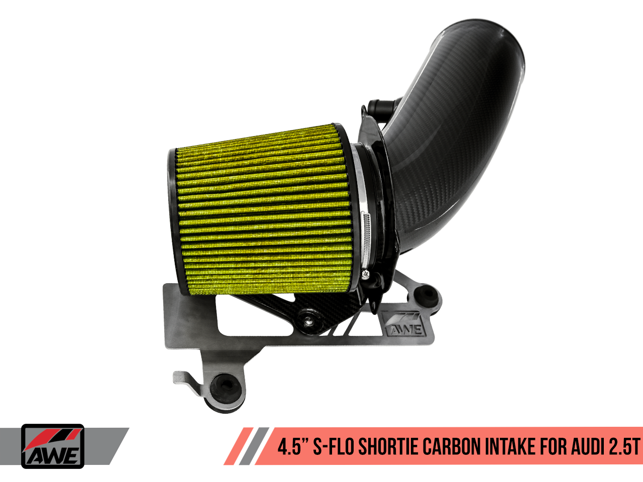 "AWE Tuning 4.5"" S-FLO Shortie Carbon Intake for Audi RS 3 / TT RS"