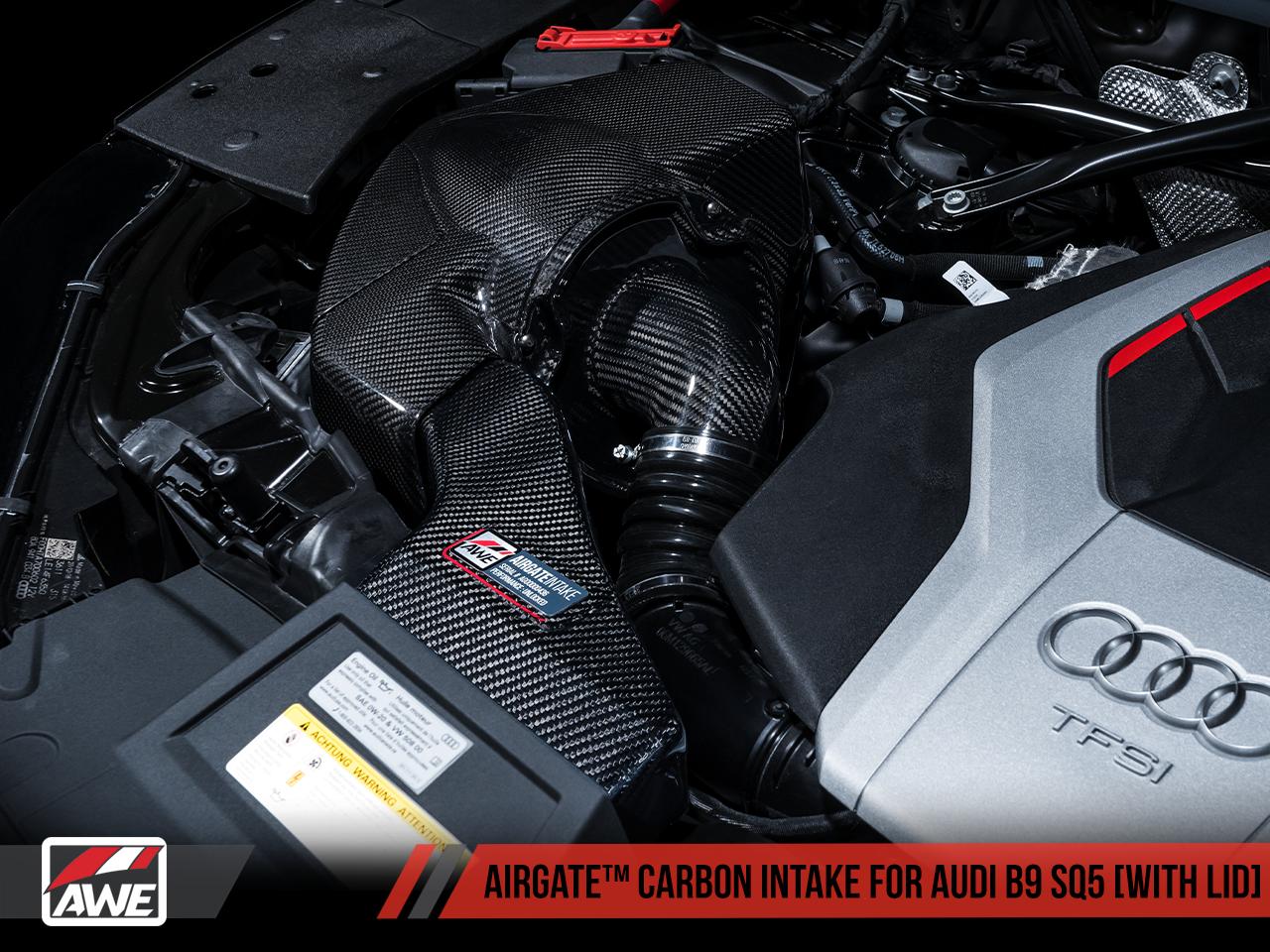 AWE Tuning AirGate Carbon Fibre Intake Kit - SQ5 (B9) 3.0T