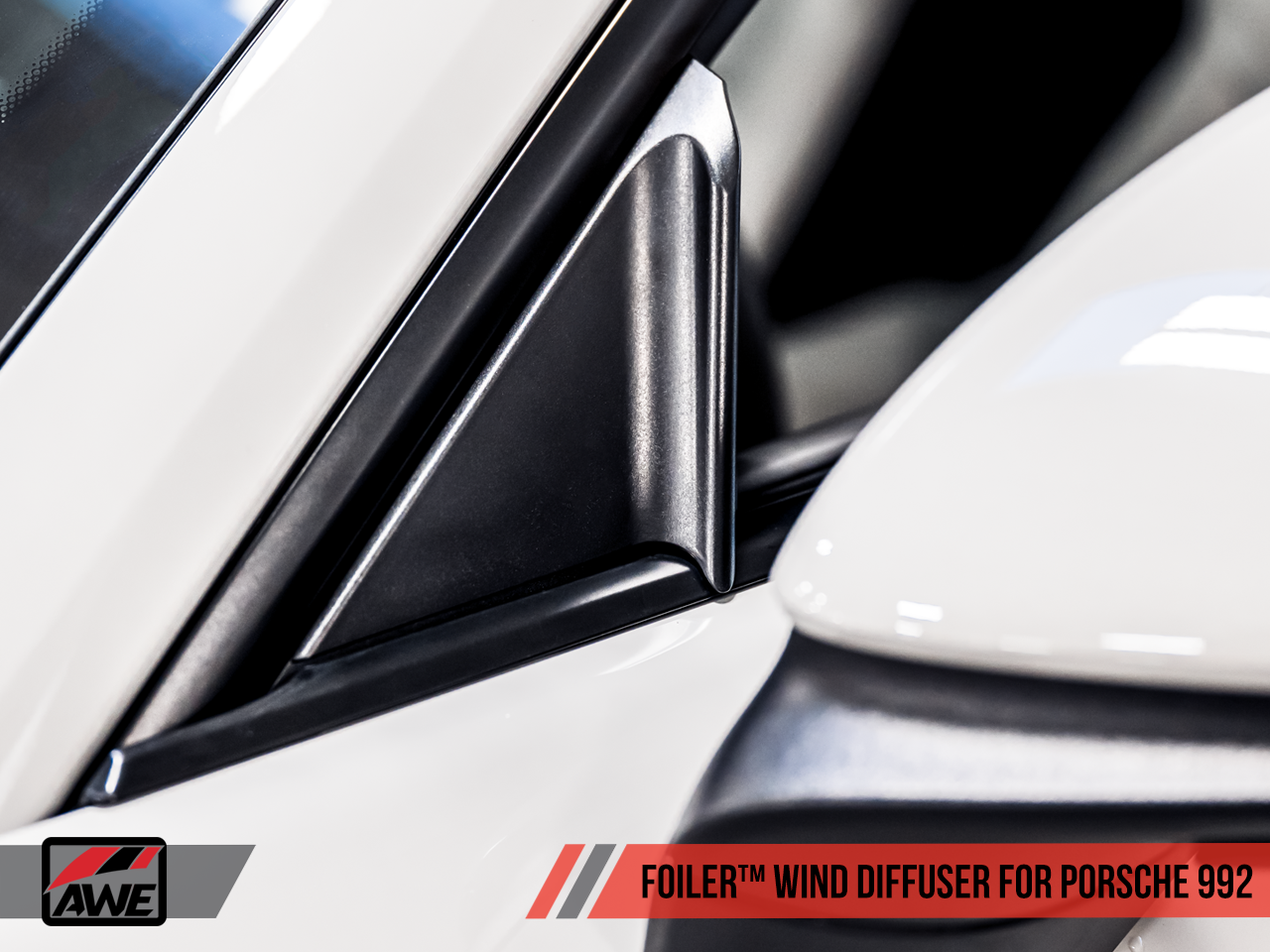 AWE Tuning Foiler Wind Diffuser - Porsche 992