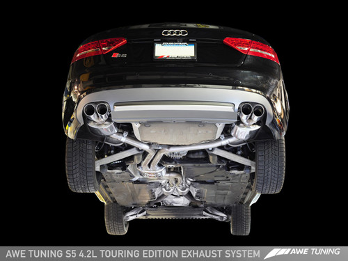 AWE Tuning Audi S5 4.2 Touring Edition Exhaust