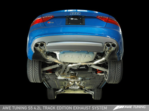 AWE Tuning Audi S5 4.2 Track Edition Exhaust