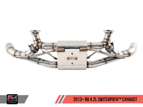 AWE Tuning Audi R8 4.2 (2014-2015) SwitchPath Exhaust System