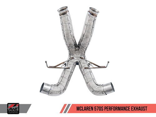 AWE Tuning Performance Exhaust - McLaren 570GT
