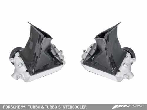 AWE Tuning Porsche 991 Turbo Performance Intercoolers