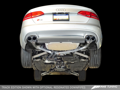AWE TUNING AUDI B8 S4 Track Edition Exhaust