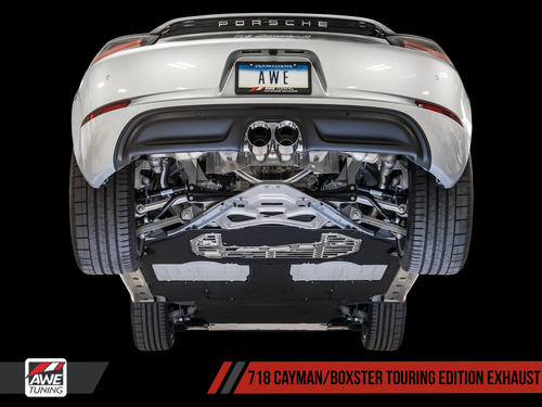 AWE Tuning Porsche 718 Boxster & Cayman SwitchPath Exhaust