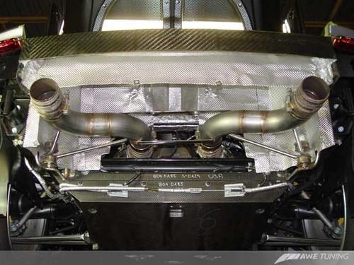 AWE Tuning Porsche Carrera GT Performance Straight Pipe Kit