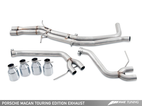 AWE Tuning Porsche Macan S and GTS Touring Edition Exhaust