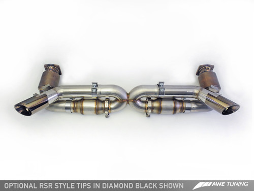 AWE Tuning Porsche 997 Turbo and Turbo S (2010-2012) Performance Exhaust