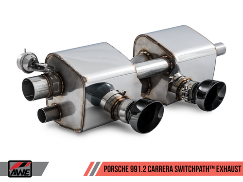 AWE Tuning Porsche 991.2 Carrera and Targa Switchpath Exhaust