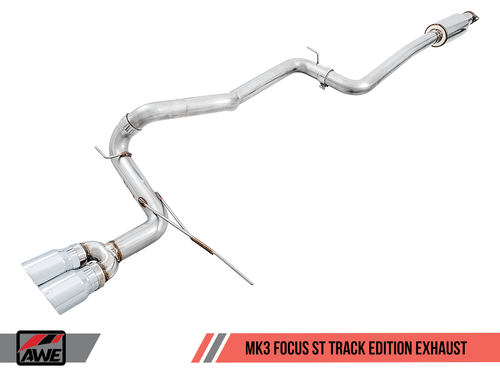AWE Tuning Focus Mk3 'ST' Track Edition Cat-Back Exhaust
