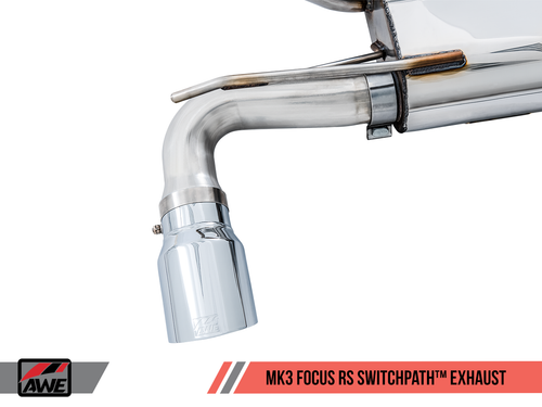 AWE Tuning Focus Mk3 'RS' Switchpath Cat-Back Exhaust