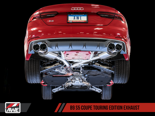 AWE Tuning Touring Edition Exhaust System - Audi S5 (B9) 3.0T Coupe