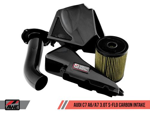 AWE Tuning S-FLO Intake kit - A6/A7 - C7 3.0TFSI (New Version)