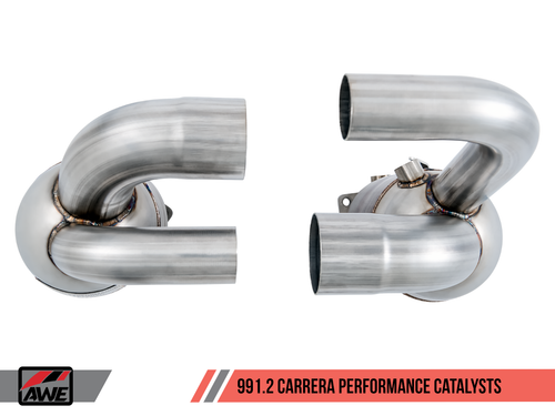 AWE Tuning Performance Catalysts for Porsche 991.2 3.0L - PSE Only
