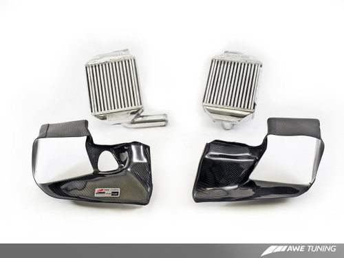 AWE Tuning Performance Intercooler Kit for Audi 2.7T - with Carbon Fiber Shrouds