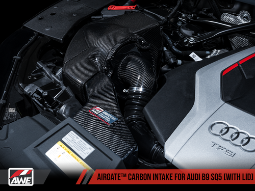 AWE Tuning AirGate Carbon Fibre Intake Kit - SQ5 (B9) 3.0T