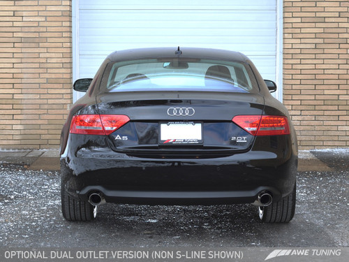 AWE Tuning Audi A5 B8.5 2.0T Touring Edition Exhaust System - Dual System