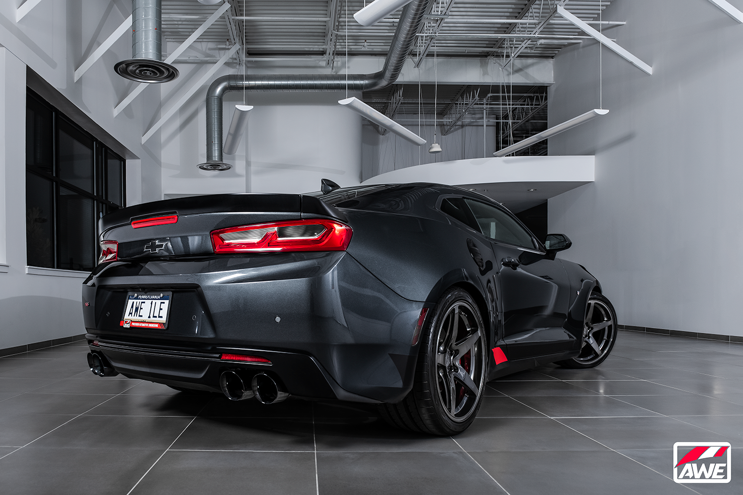 AWE LAUNCHES GEN6 CAMARO PERFORMANCE EXHAUST LINE