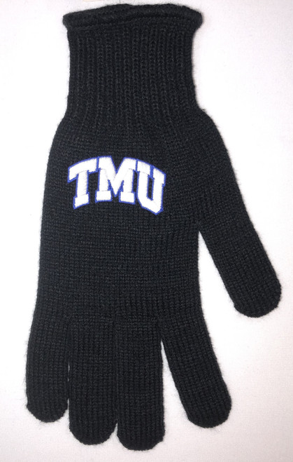 Black Gloves Logo Fit
