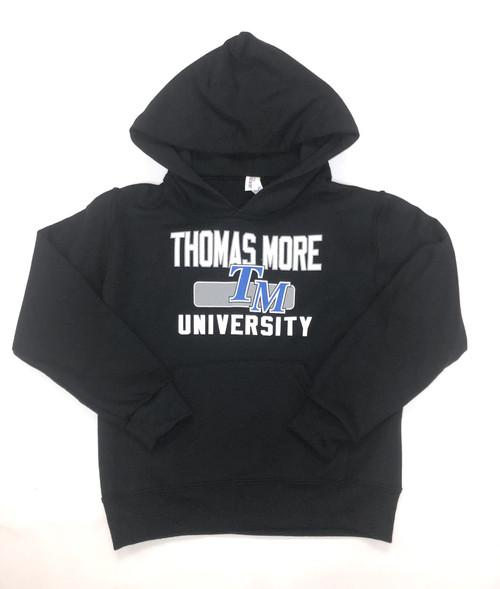 Black Youth Power Blend Hooded Sweatshirt