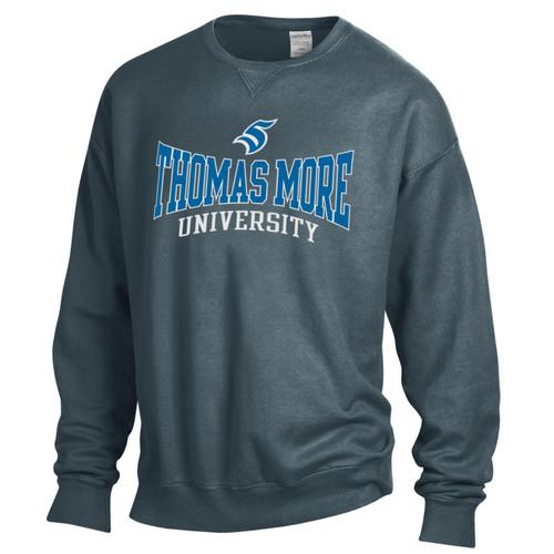 Thomas More University Crewneck New Railroad Comfort Wash