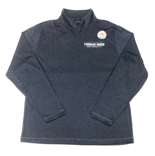 Heather Blue Ouray 1/4 Zip Pullover