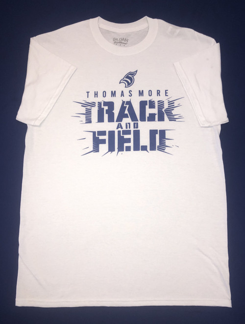 White Track and Field Tee