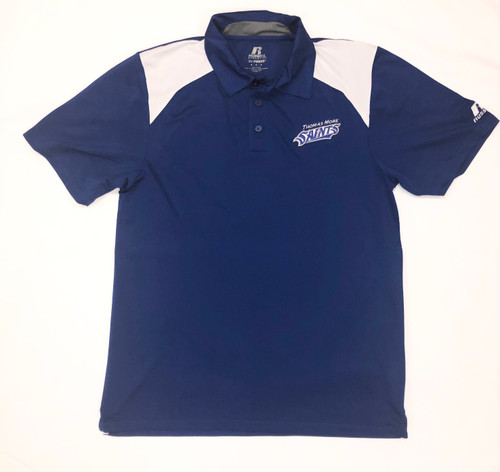Royal and White Russell Saints Polo