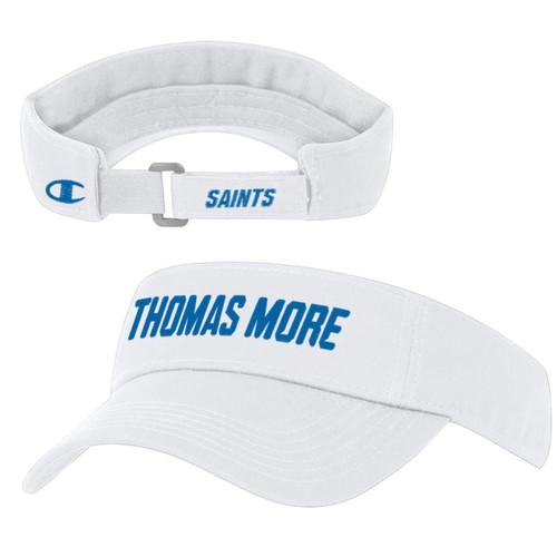 White Thomas More Visor