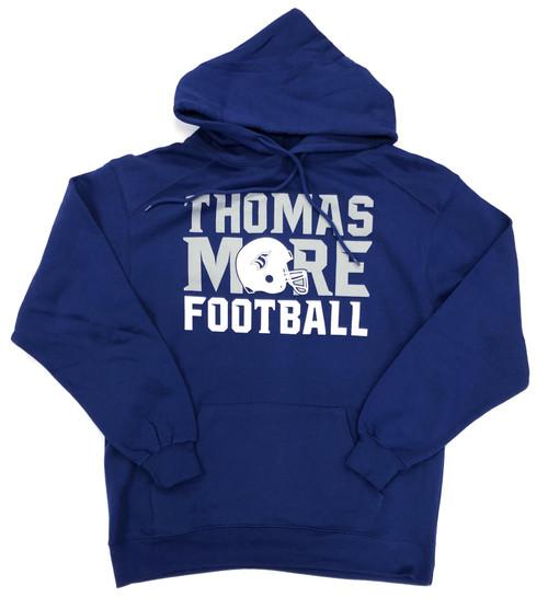 Royal Football Hooded Sweatshirt