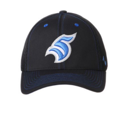 Black Fitted Zephyr S Hat