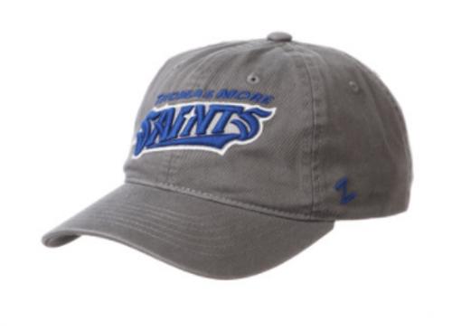 Washed Grey Adjustable Zephyr Saints Hat