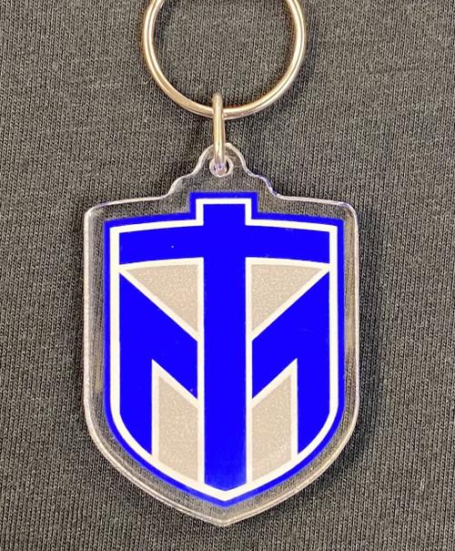 Shield Key Tag