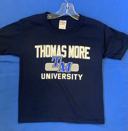 Navy Thomas More University Youth Tee