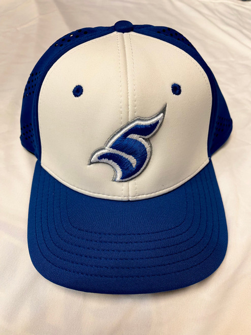 Royal and White Proflex Hat